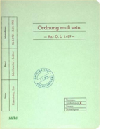 Kurt KusenbergOrdnung muß sein (1989)Illustriert von Karsten Zink